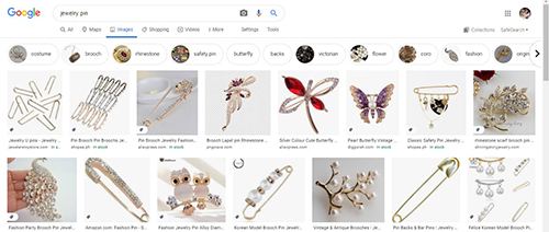 Search in google images